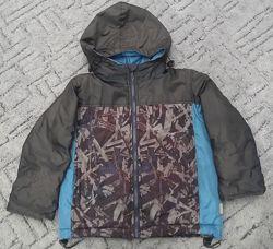 Деми куртка на мальчика 3-4 года, 98 р.