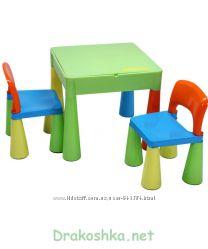 Tega Baby Mamut стол и два стульчика