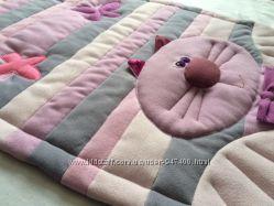 Мягкий тёплый коврик из флиса для деток. Подарок к Новому году