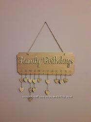 Дни рождения Календарь