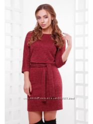 жен платье Белли из Ангоры софт с поясом в комплекте