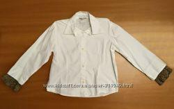 Праздничная рубашка на девочку. р. 108. На 4-5 лет.