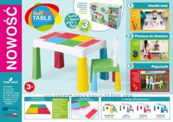 НОВИНКА Набор Multifan Eco Tega Baby стол и 1 стульчик