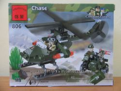 Конструктор военная серия CombatZones Brick арт. 806 808 809 814 818