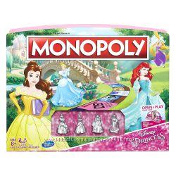 Monopoly Game Disney Princess Edition Монополия Принцессы Дисней д девочек