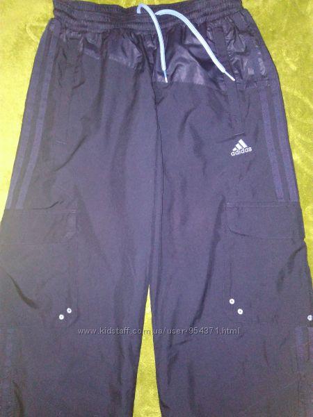 Спортивные штаны Adidas оригин. S-M р. 158-164  Состояние идеальное