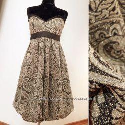 lux платье с золотым узором от kina fernandez