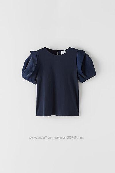 Стильная футболка для девочки Zara