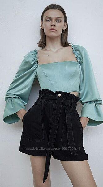 Стильные шорты бермуды Zara