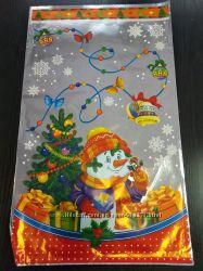 Упаковка новогодняя 30х50 см