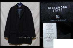 Фирменные полу-пальто CEDARWOOD STATE, CABANO, шерсть, кашемир