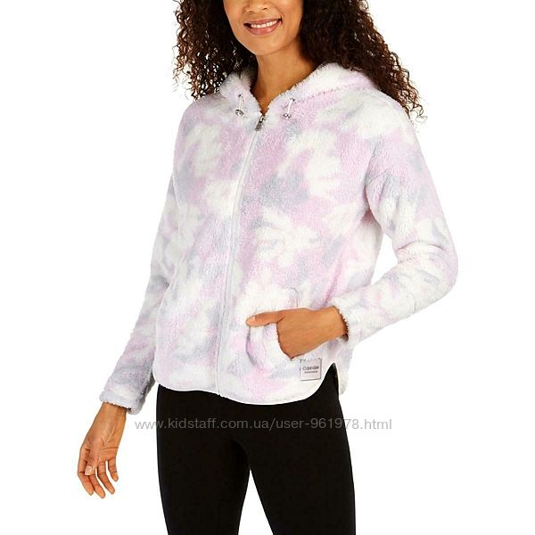 Calvin Klein Performance Faux Fur Fleece Jacket куртка оригинал L 40 14 48