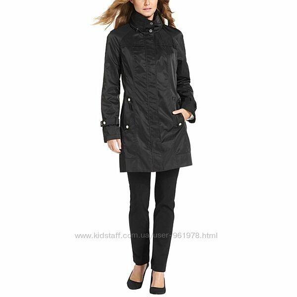 Calvin Klein Long Packable Anorak оригинал плащ черный S 10 44