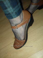 Туфли кожаные Clarks collection cushion soft 25 см