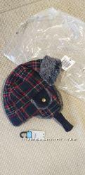 Нова тепла шапка ушанка NEXT розм. 3-4 р. 104 в наявності