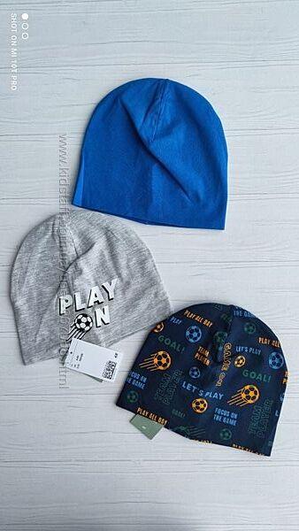 Нові тонкі шапки h&m розм. 1,5-4 р. ,4-8 р. і 8-12 р. , ціна за одну