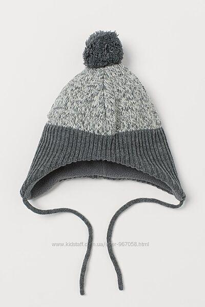 В наявності Нова утеплена шапка H&M розм. 6-12 міс. , 1-2 р. і 2-4 р.