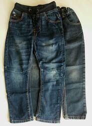 Фирменные джинсы  на мальчика 116-122