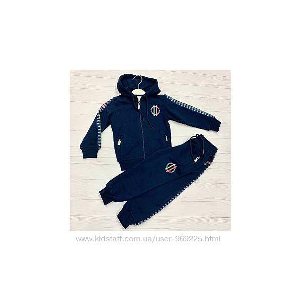 Темно-синий спортивный костюм BIKKEMBERGS
