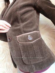 Стильный вельветовый пиджак ZARA
