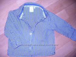 Стильная рубашка на маленького модника