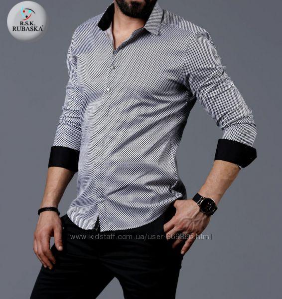 Турецкая мужская рубашка. Размеры S. L