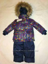 Качественные и теплые зимние комбинезоны-костюмы для мальчиков в наличии