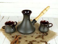 Турка Аладдин 350мл в наборе с чашками