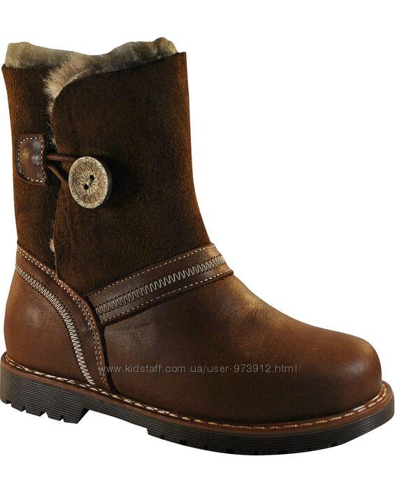 Ортопедические высокие зимние ботинки