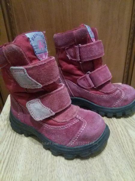 Продам ботинки, сапоги Naturino 24 размер