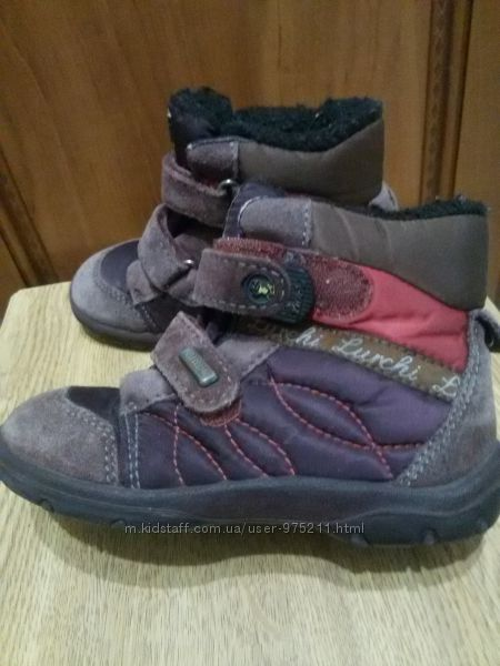 Продам тёплые ботинки, ботиночки Lurchi 26 размер