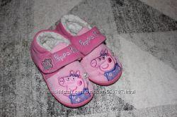 Тапочки Peppa Пеппа размер 8-9 на 25