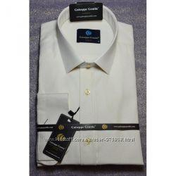 Белая, шампань- айвери рубашка  всегда в наличии