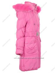 Зимняя куртка на флисе фирмы NUI VERY на рост 116-122-128 см.