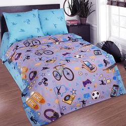 Детское натуральное постельное белье 100 хлопок