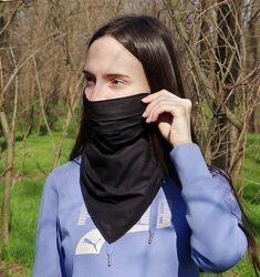 Многоразовая защитная маска платок