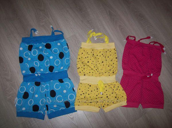ромпер, комбинезон, песочник  для девочки на рост 98-104 и 128-134