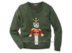 Нарядный новогодний, рождественский свитер на девочку Рepperts