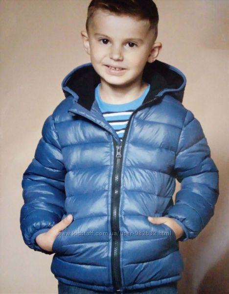 Зимняя термо куртка на мальчика impidimpi Германия.