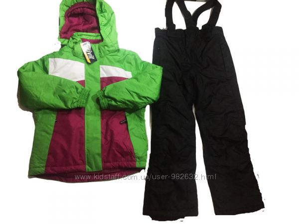 Зимний лыжный костюм Crivit комплект куртка  полукомбинезон