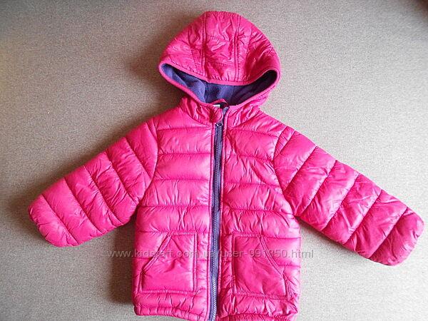 Курточка детская для девочки б/у рост 74-80