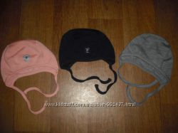 Шерстяные шапочки Polarn o. Pyret на 1-4 мес. 4-9 и 9-12 мес.