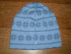 Двухслойная шерстяная шапочка Joha на возраст 4-9 мес. , 3-5 лет, 6-9 лет