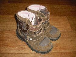 Утепленные ботинки Naturino р. 27