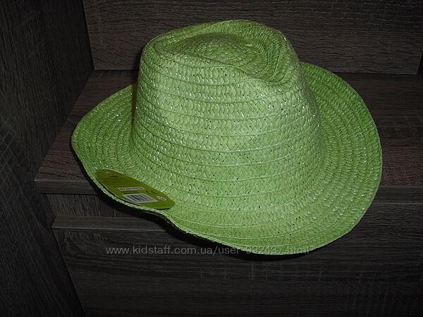 Детские летние шляпы  на 3-6 лет