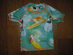 Солнцезащитная футболка для купания Molo р.86-92