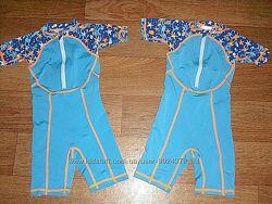 Солнцезащитный костюм для купания  на 1-1,5 года