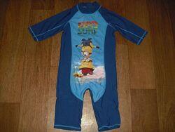 Солнцезащитный костюм для купания р. 98-104