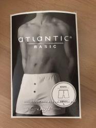 Новые белые мужские трусы боксерки размер L Athlantic  Польша