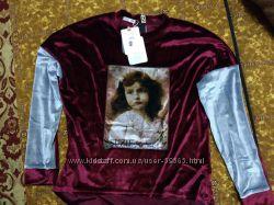 Красивый велюровый свитерок от Сьюзи